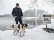 'IJshond' Nelson staat in de startblokken: 'Als hij het ijs op durft, weten we: het is veilig'