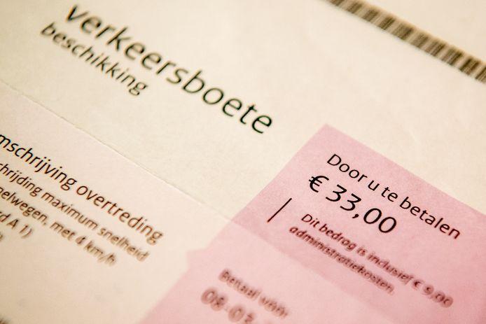 Vorig jaar werden 107.300 boetes met succes aangevochten.