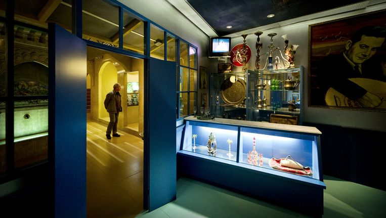 Interieur van het Tropenmuseum in Amsterdam. In het gebouw in Amsterdam wil de KNAW zes instituten samenbrengen. Beeld anp