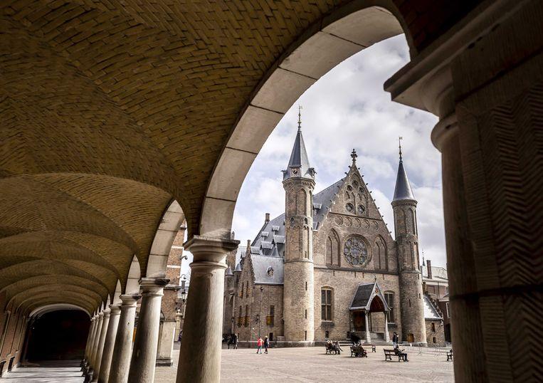 De Ridderzaal op het Binnenhof in Den Haag  Beeld ANP