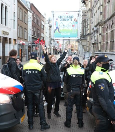 Maximum aantal demonstranten in Den Haag bijeen