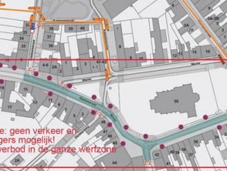 """Werken in centrum Langemark: """"Plaats je wagen buiten de werfzone"""""""