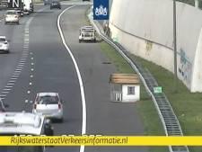 Rijkswaterstaat grapt over 'knusse woning op unieke locatie'