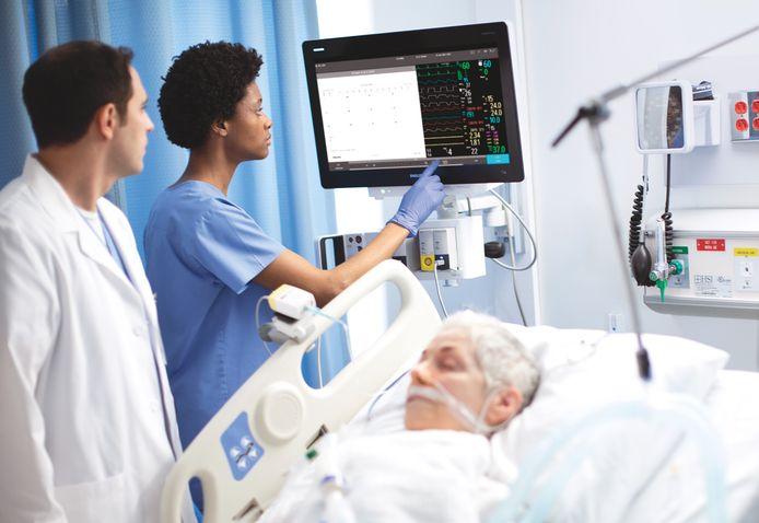 Naar patiëntbewakingsapparatuur van Philips is veel vraag voor de behandeling van Covid-19.