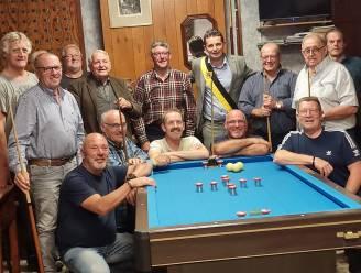 """Biljartclub Ons Vermaak bestaat 30 jaar: """"Oudere sporten mogen niet vergeten worden"""""""