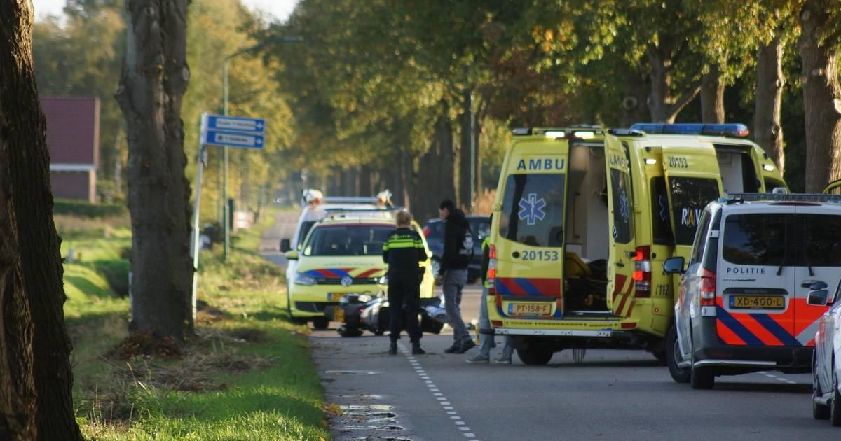 Motorrijder uit Tilburg overleden na ongeval in Kaatsheuvel.