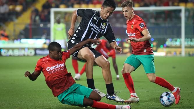 """Beloftevolle Alfons Amade (KV Oostende) klopte vorig jaar AA Gent in de Europa League: """"We mogen ze niet onderschatten"""""""