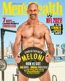 Christopher Meloni op de cover van Men's health.
