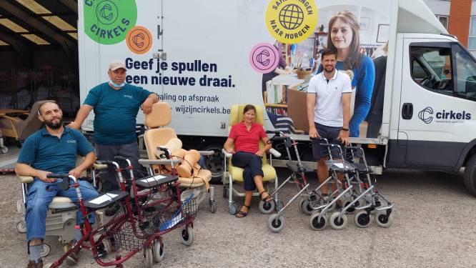 't Atelier geeft oude rolstoelen van Ten Weldebrouc tweede leven