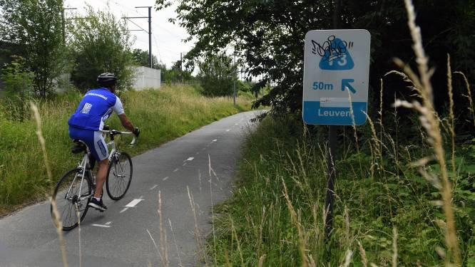 Fietsers moeten zes weken lang omrijden door werken op fietssnelweg