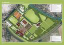 Het plan voor Campus De Wildbaan in Borculo.