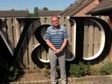 Ruud vond werk bij V&D zo leuk dat hij nu een levensgroot aandenken in de tuin heeft