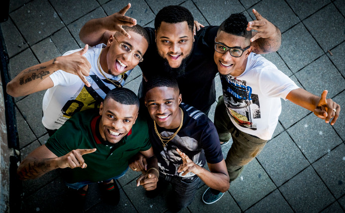 De Rotterdamse hiphopgroep Broederliefde.