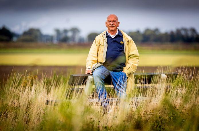 Bas Schelling, voorzitter van Dorpsvereniging De Coorndijk uit Goudswaard.