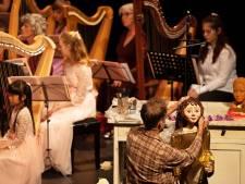 Blue Planet Harp Ensemble betovert met De Poppenmaker