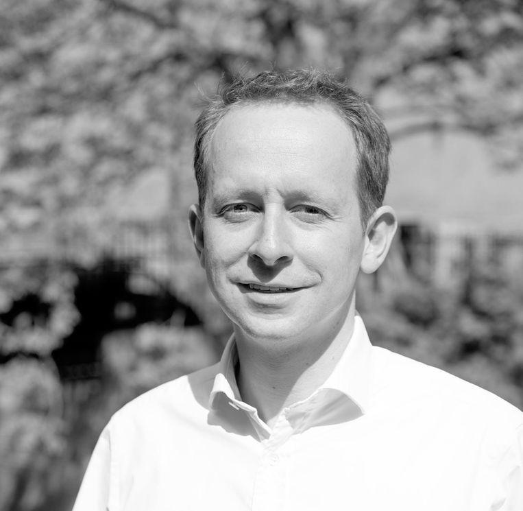 Arnoud Hoekstra, SP-lijsttrekker voor de Europese verkiezingen. Beeld Maurits Gemmink