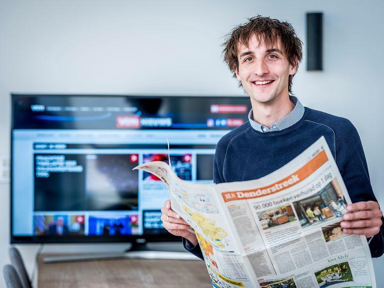 Frederik De Swaef wordt hoofdredacteur regio bij News City.  Beeld rv Tim De Backer