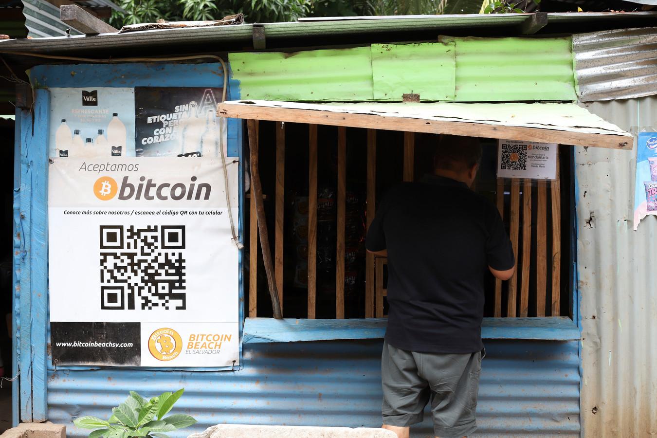 In El Salvador wordt bitcoin als wettig betaalmiddel geaccepteerd.