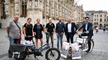 Elektrische fiets centraal op Leuven Autovrij