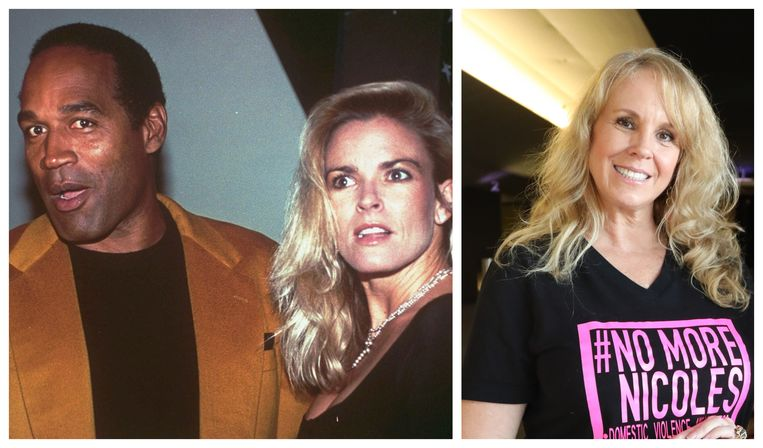 OJ Simpson en Nicole Brown Simpson in betere tijden. Haar zus, Tanya, gelooft nog altijd dat OJ Nicole vermoord heeft.