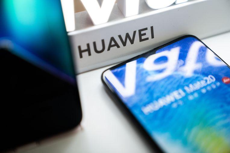 De Huawei Mate 20.