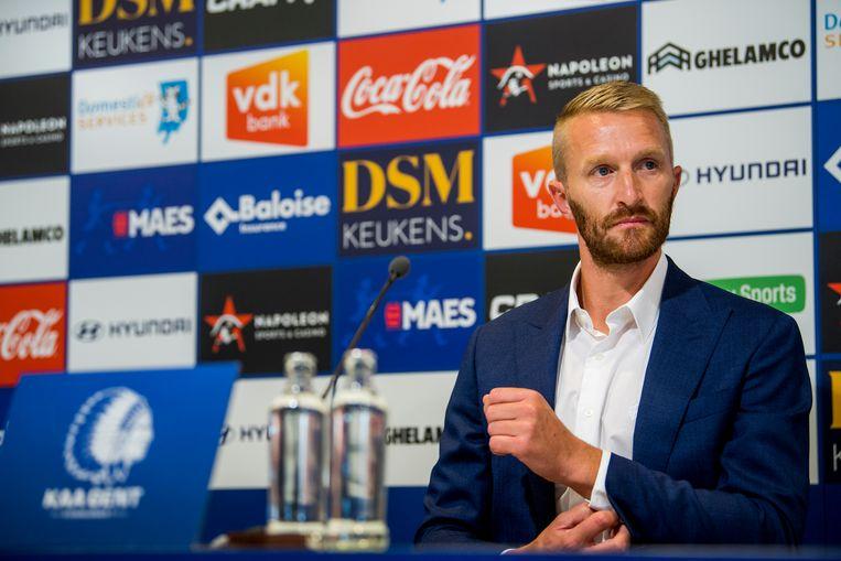 Wim De Decker wordt voorlopig hoofdcoach bij Gent. Beeld BELGA