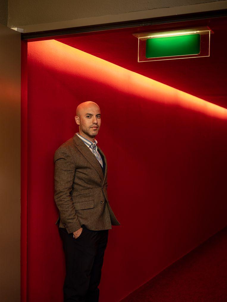 Yassine Boussaid: 'Ik onderschat de wrevel niet, maar we moeten het ook niet overdrijven.' Beeld Frank Ruiter