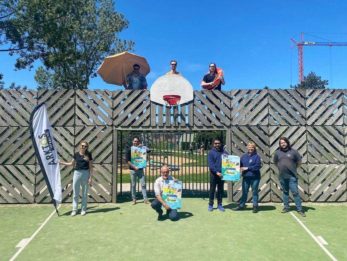 Oostende werkt samen met de lokale jeugdwerkorganisaties aan een afgeslankte versie van 'School is Out - on tour'.