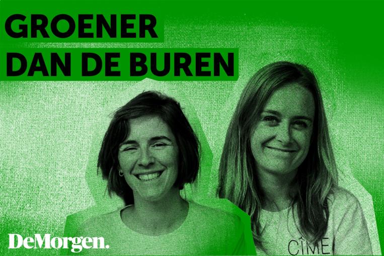 Isabel Coppens en Anke De Boeck van Cîme. Beeld STUDIO NUNU