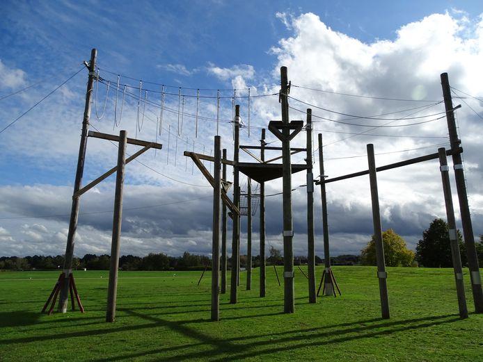 Het touwenparcours van De Nekker wordt volledig vernieuwd.