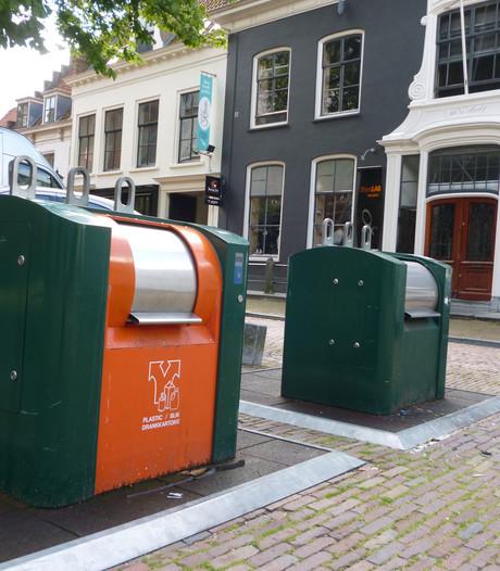 Ondergrondse huisvuilcontainer rukt op in Wijk