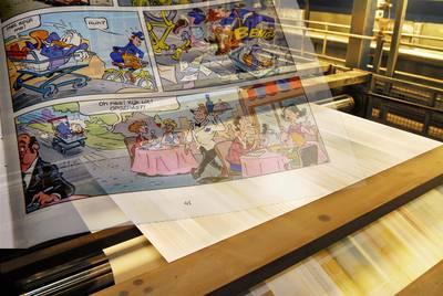 Drukker Donald Duck en Libelle failliet; onduidelijkheid voor bladen