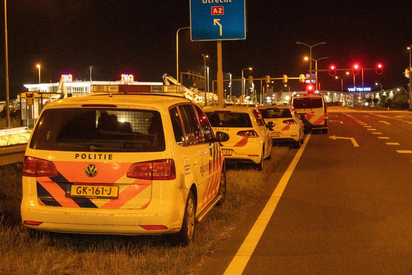 Grote politieactie bij Hedel.