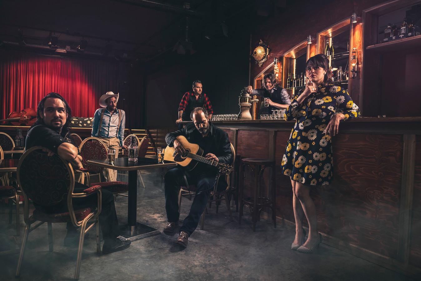 DEF Americans, coverband van Johnny Cash uit Eindhoven, op 30 maart in De Schuur.