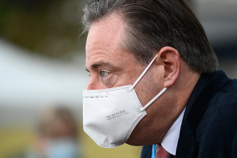 De Wever kreeg zelf kritiek over zijn uitspraken over een wisselmeerderheid. De kernuitstap in 2025 is immers helemaal niet nieuw, maar werd samen met N-VA beslist in de regering-Michel.  Beeld Photo News