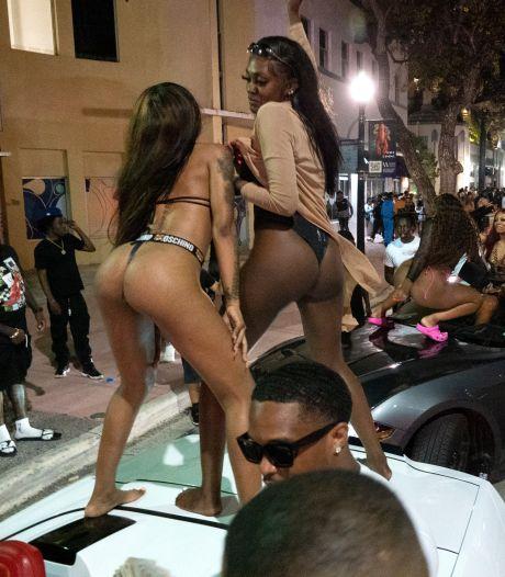 Losgeslagen feestmenigte zorgt voor chaos in wetteloos Miami