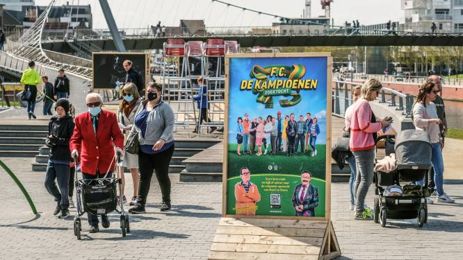 Ruim 40.000 wandelaars namen deel aan F.C. De Kampioenen-zoektocht