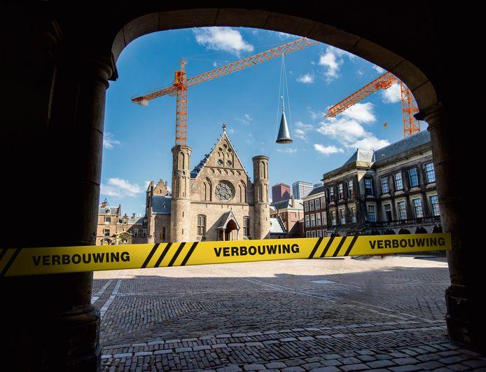 De Ridderzaal op het Binnenhof.