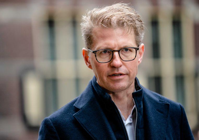 Minister Sander Dekker voor rechtsbescherming (VVD). Beeld ANP