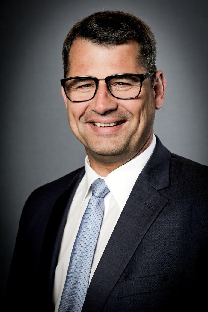 Gedeputeerde Erik Ronnes (CDA).