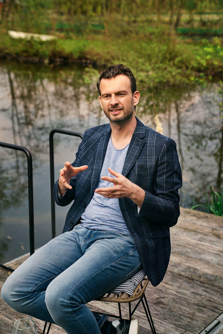 Tim Verleyzen: 'Vrouwen kunnen aan verschillende dingen tegelijk denken. Mannen zijn met één ding tegelijk bezig.' Beeld Joris Casaer