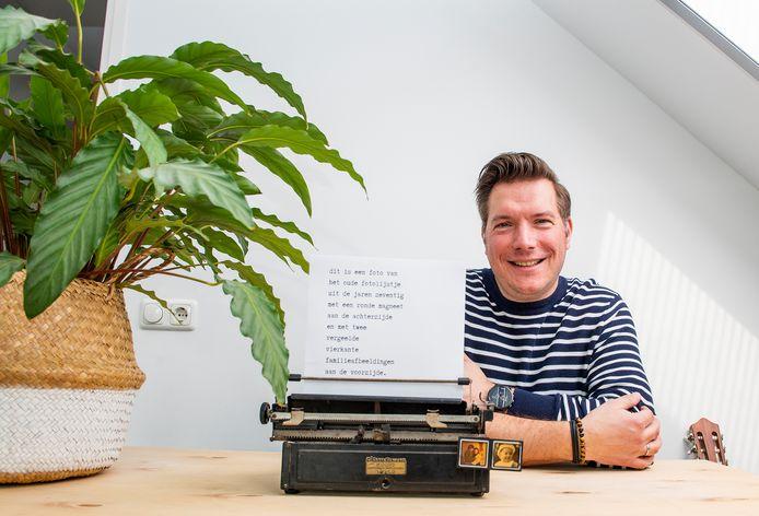 Dennis Dekker is met zijn Instagram-account @eenfotovan genomineerd voor de poëzieprijs Amai.
