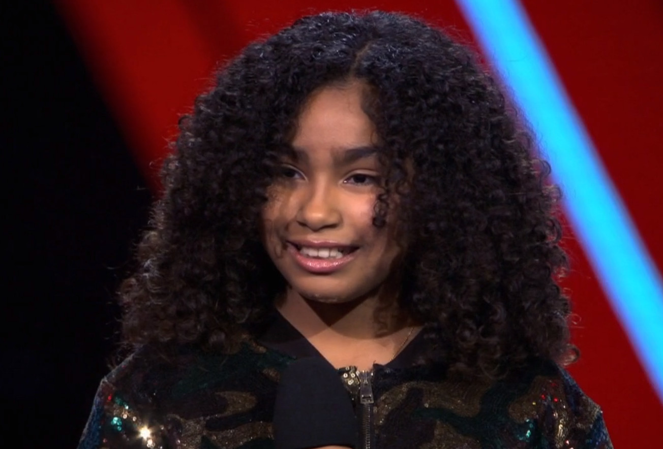 Elaine in The Voice Kids.