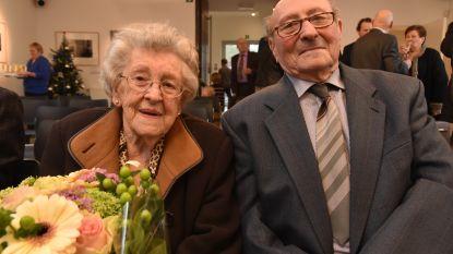 Armand (92) en Yvonne (95) zijn platina koppel