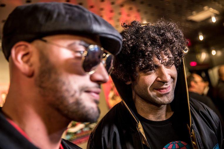 Bilall Fallah en Adil El Arbi. Beeld ANP Kippa