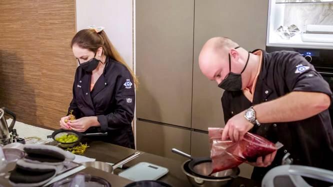 """Duo's 'Mijn Keuken Mijn Restaurant' sprokkelen laatste tips voor finale: """"Wij spelen elke avond een Champions League-match"""""""