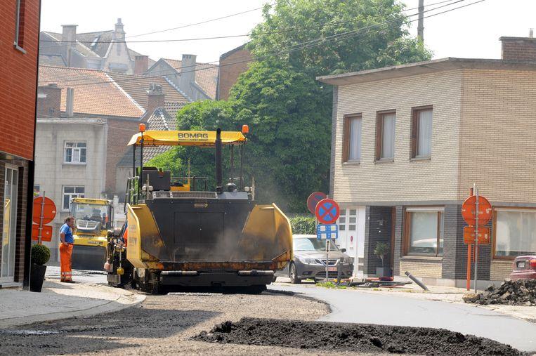 De asfalteermachines rukken op van 23 september tot  9 oktober.