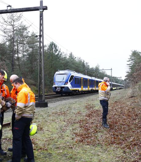 Treinverkeer tussen Amersfoort en Zwolle na storing van halve dag hervat