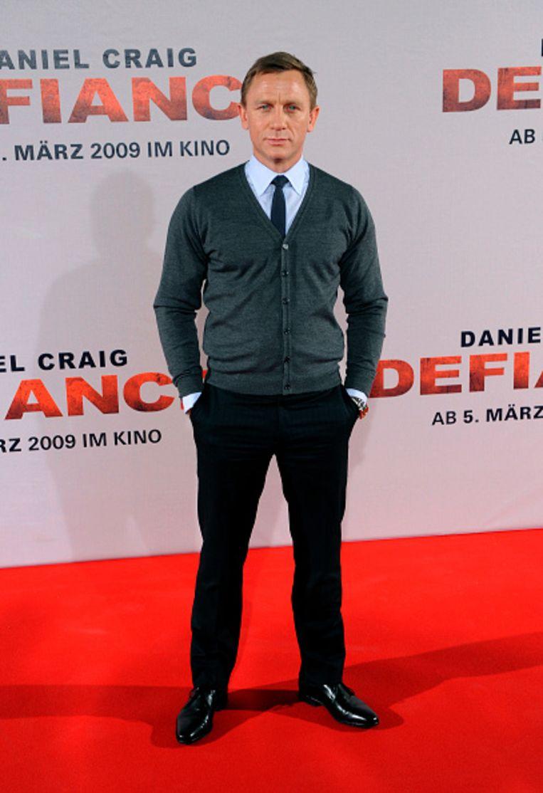 Acteur Daniel Craig bij een promo-event voor de film 'Defiance' in 2009 in München.   Beeld Getty Images