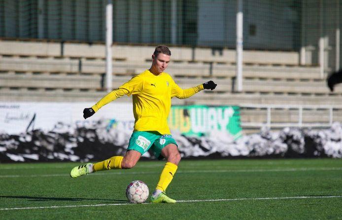 Ingo van Weert in actie tijdens zijn stage bij KTP Kotka.